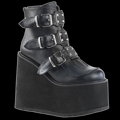 Demonia - B/L 3 Buckle Swing-105