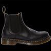 Dr Martens - Black Smooth Leather Yellow Stitch Chelsea Boot