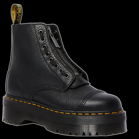 Dr Martens - SINCLAIR Black Aunt Sally Leather