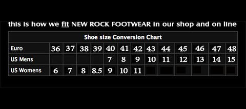 New Rock - Synthetic 4 Buckle Boot