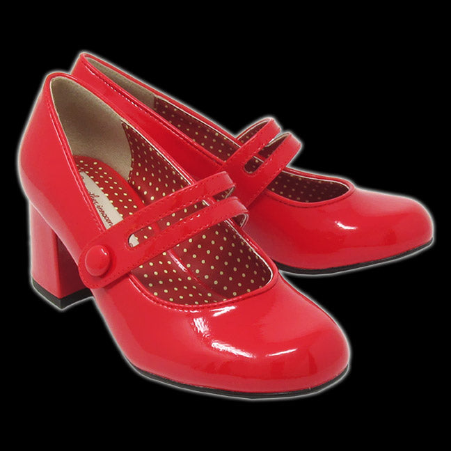 BAIT - Candice Red Patent Heel Shoe