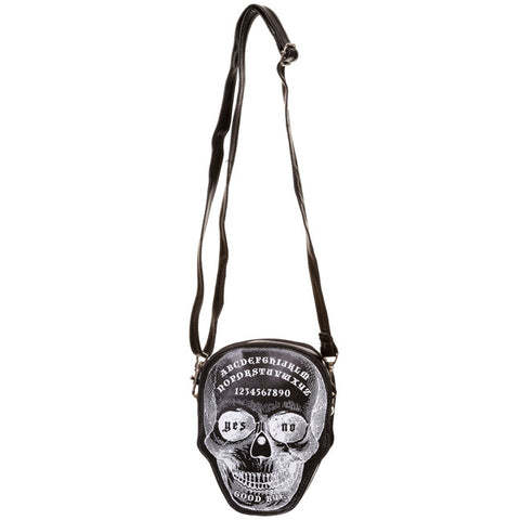 Banned Apparel - Power Trip Skull Mini Bag