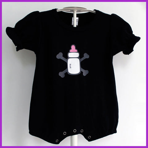 Babysitter's Nightmare - Baby Bottle Romper