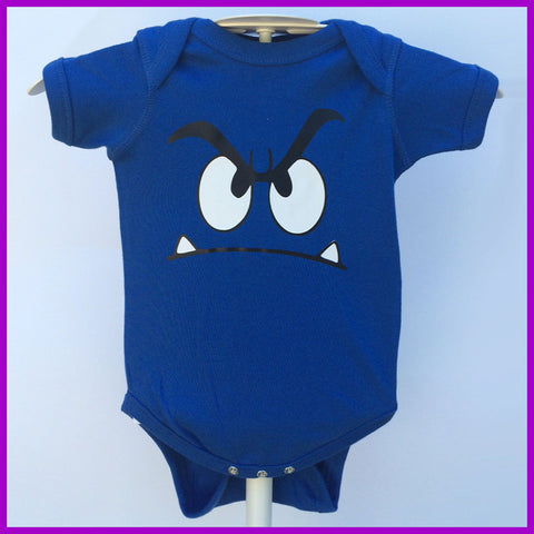 Babysitter's Nightmare - Blue Monster Onesie
