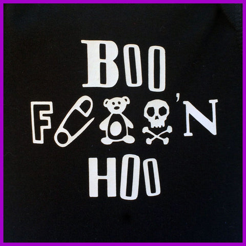 Babysitter's Nightmare - Black Boo F'n Hoo Tutu Dress