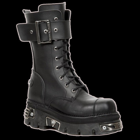 New Rock - Twitch Vegan 1 Strap Boot