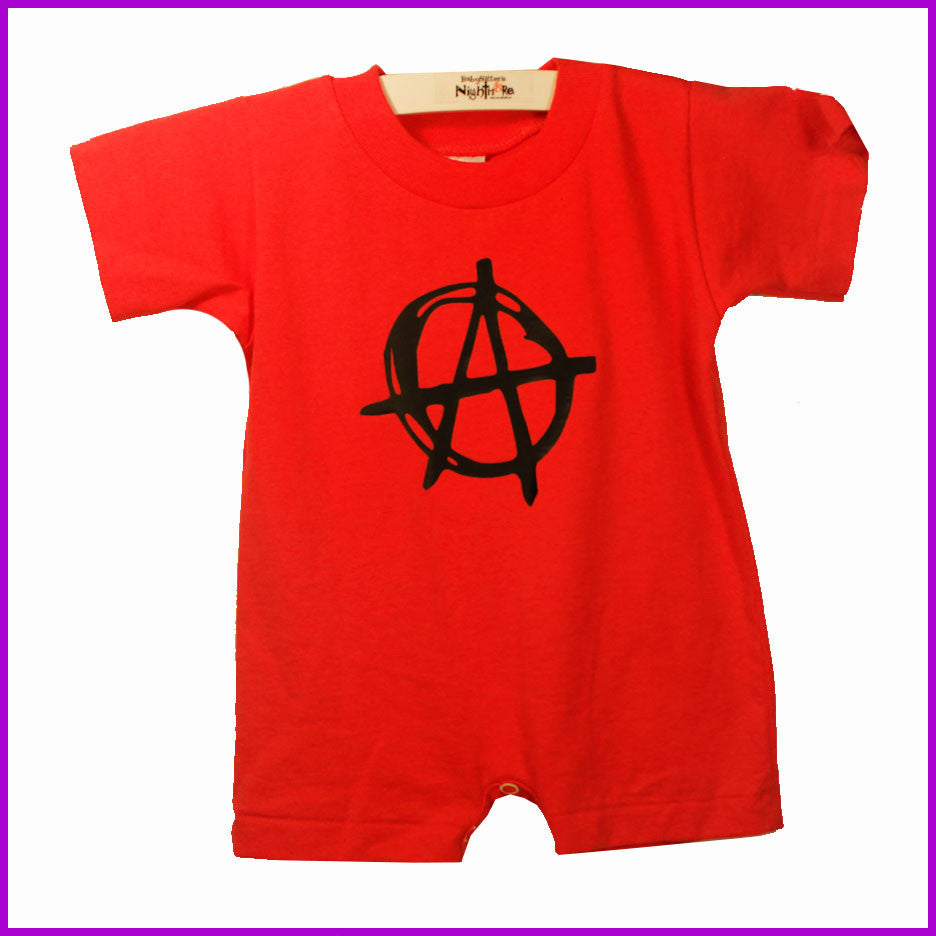 Babysitter's Nightmare - Anarchy T-Romper