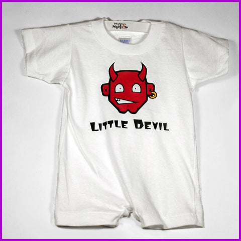Babysitter's Nightmare - Little Devil T-Romper