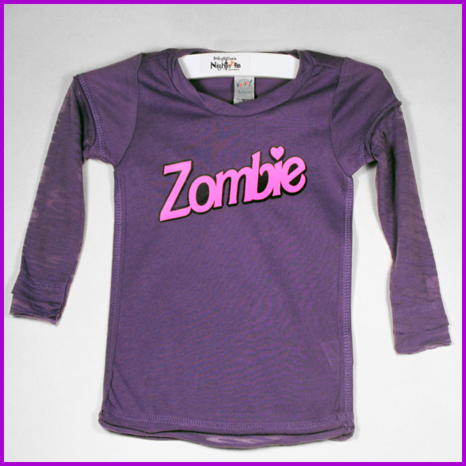 Babysitter's Nightmare- Zombie long sleeve top