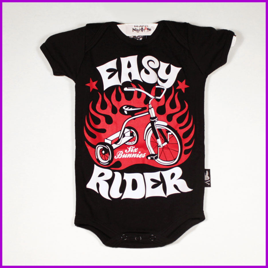 Six Bunnies- Easy Rider Onesie