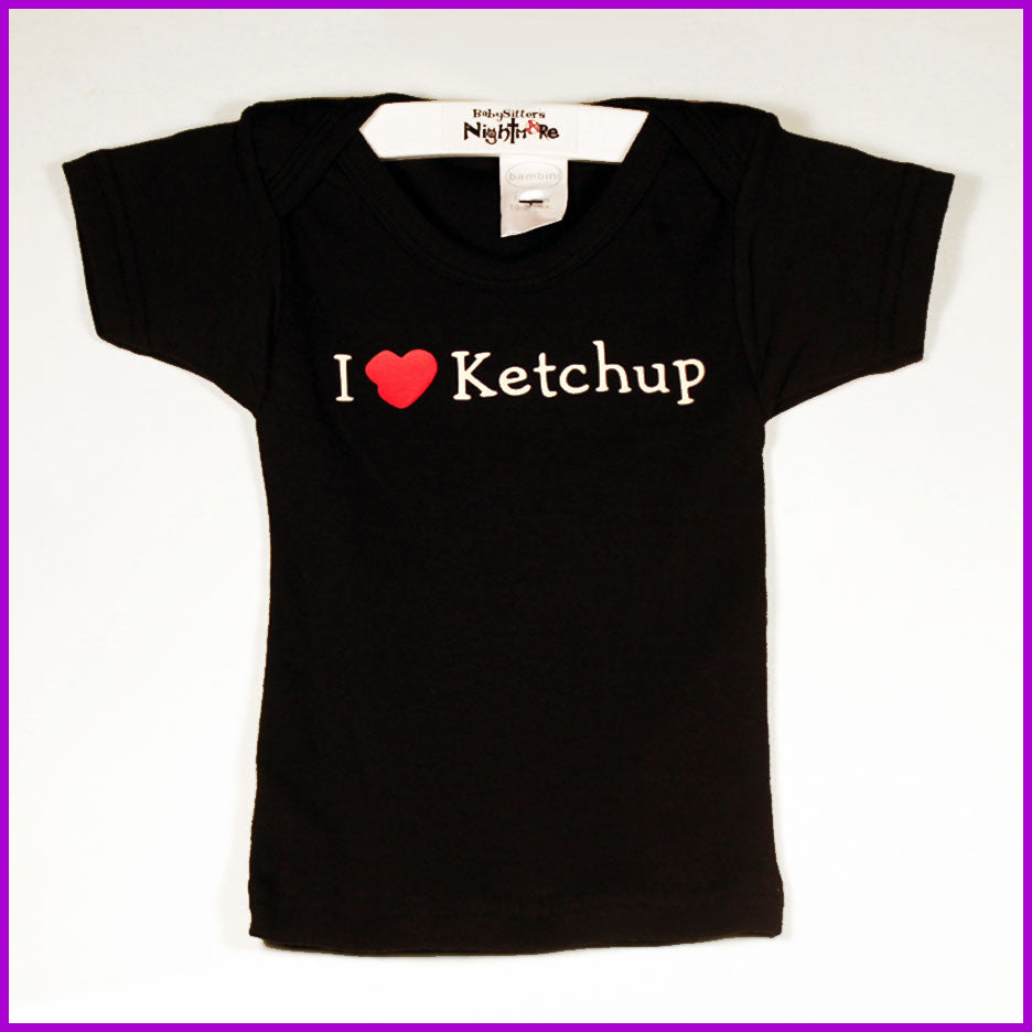 Babysitter's Nightmare - I Love Ketchup Lap Tee