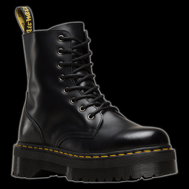 factory authentic exceptional range of styles classic styles Dr Martens 8 Eyelet Black 1460 Jadon Platform Boot R15265001 ...