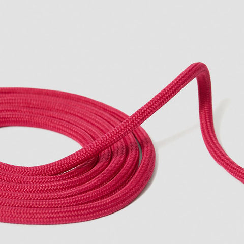 8-10 Eyelet Fuschia Pink Round Laces (140 cm / 55 in)