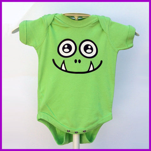 Babysitter's Nightmare - Green Monster Onesie