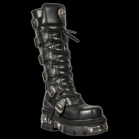 New Rock - Shock 6 Buckle Boot