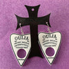 Ouija Earrings - White