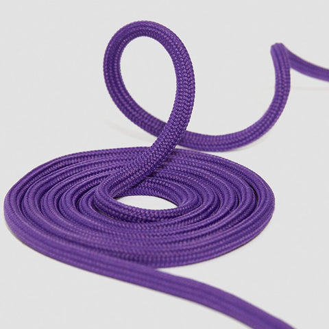 8-10 Eyelet Purple Round Laces (140 cm / 55 in)