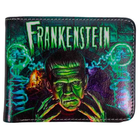 Rock Rebel - Dr. Frankenstein's Laboratory Billfold Wallet