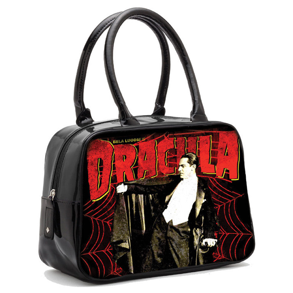 Rock Rebel - Dracula Web Bowler Handbag