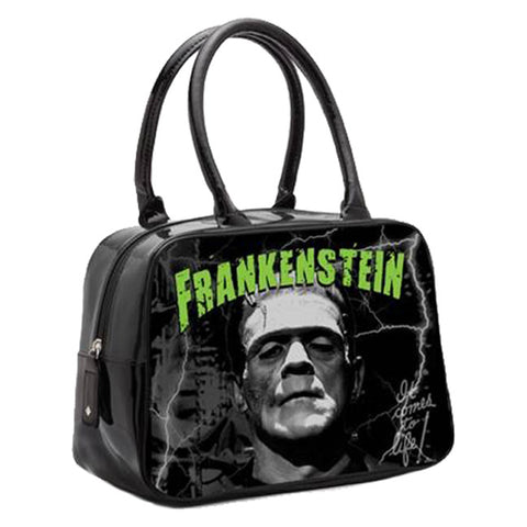 Rock Rebel - Frankenstein Bowler Handbag
