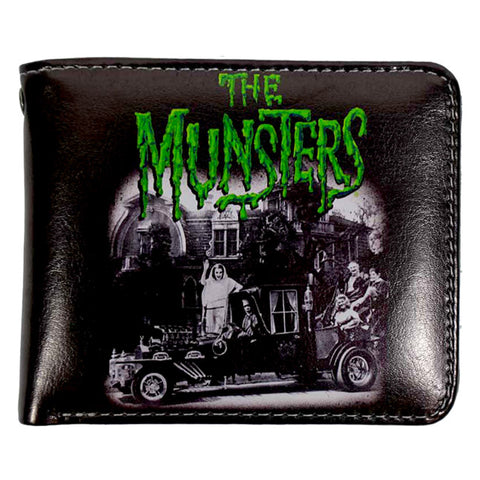 Rock Rebel - Munsters Family Coach Billfold Wallet