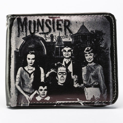 Rock Rebel - Munsters Family Portrait Billfold Wallet