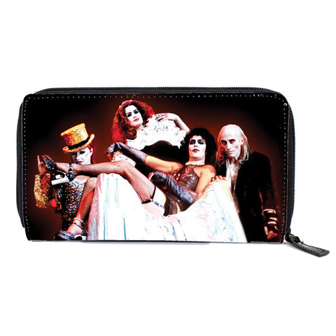 Rock Rebel - Rocky Horror Picture Show Cast Women's Zip Around Wallet