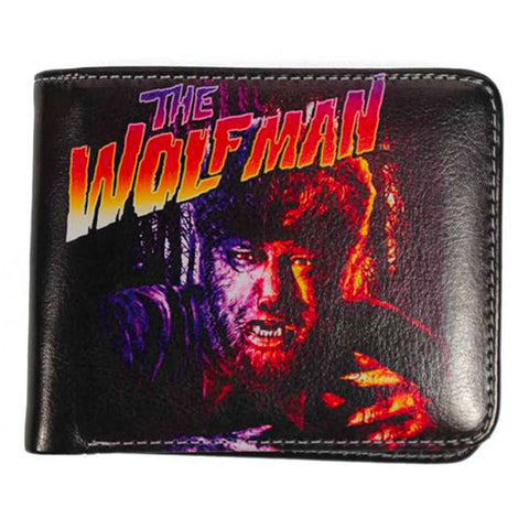 Rock Rebel - The Wolfman Billfold Wallet
