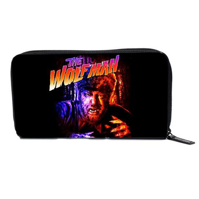 Rock Rebel - The Wolfman Women's Zip Around Wallet