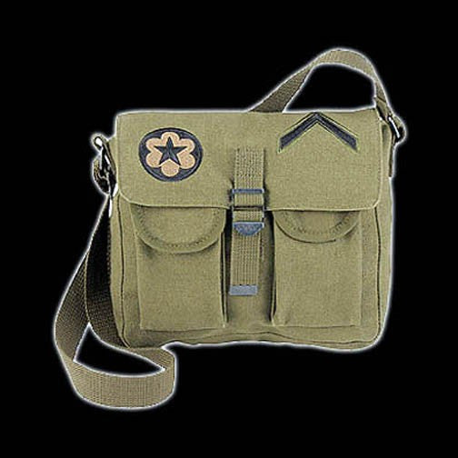 ROTHCO - AMMO SHOULDER BAG W/ PATCHES