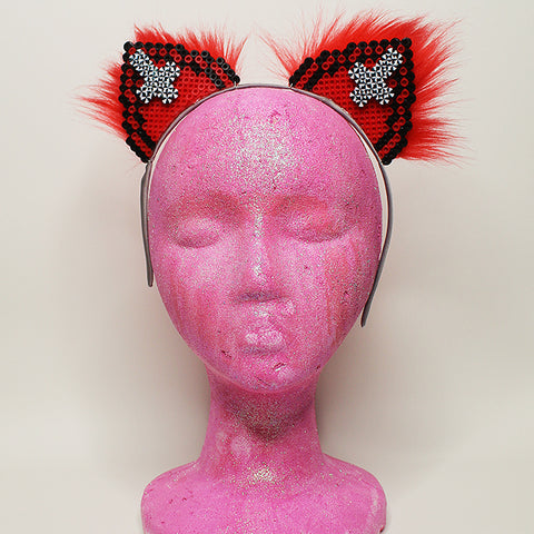 Kandi Kitten Ears Devilish