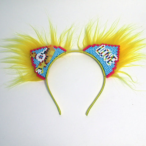 Kandi Kitten Ears Yellow Submarine