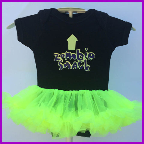 Babysitter's Nightmare - Zombie Snack Tutu Dress