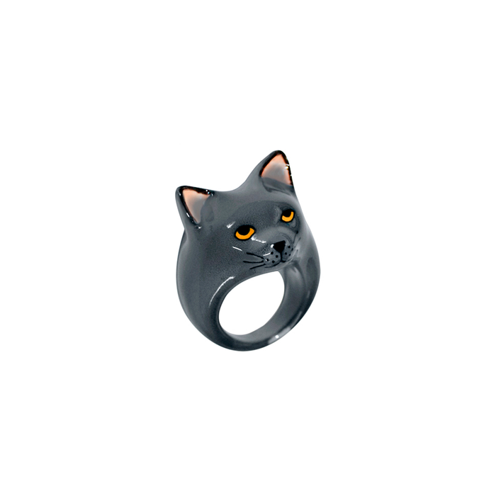 NACH CHARTREUX GREY CAT RING