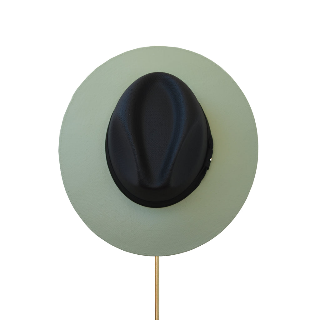 BIURIFUL SOMBRERO TOT COLOR BLACK MATCHA
