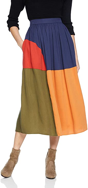 MARA HOFFMAN MILLY SKIRT MUSTARD MULTI