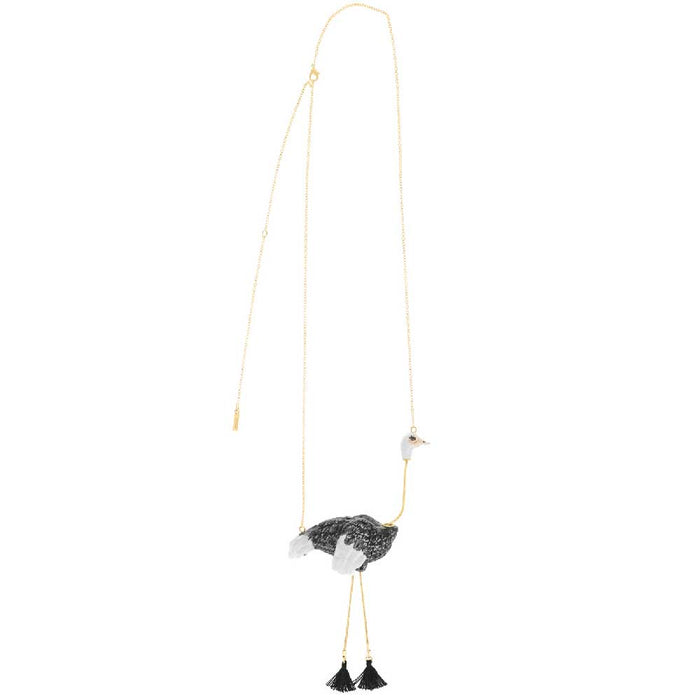 NACH OSTRICH NECKLACE