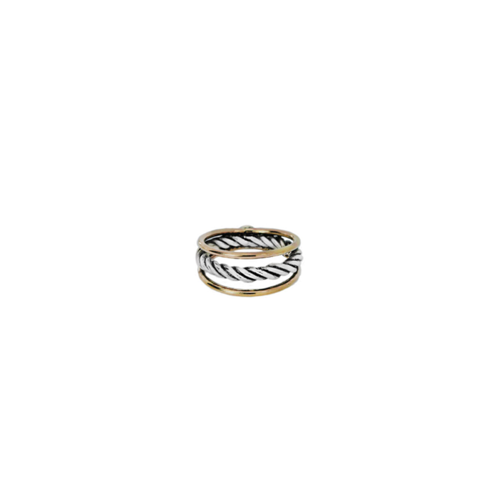 INTERTWINED AMELIA RING