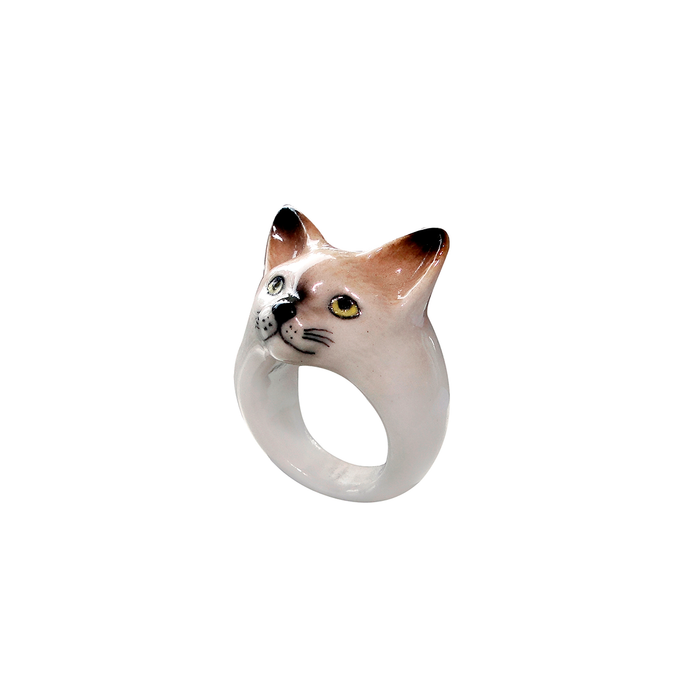NACH SIAMESE CAT RING