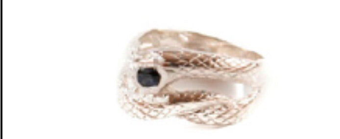 AV30 AVOCET - ANTIQUE SNAKE RING