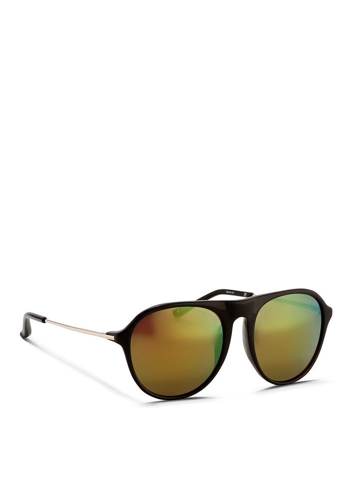LINDA FARROW FOR PHILLIP LIM GAFAS PL31C2SUN BLACK/ GUNMETAL/ MULTICHROME YELLOW LENS