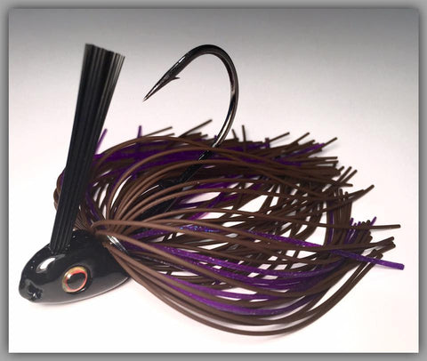 Brown Rubber Purple