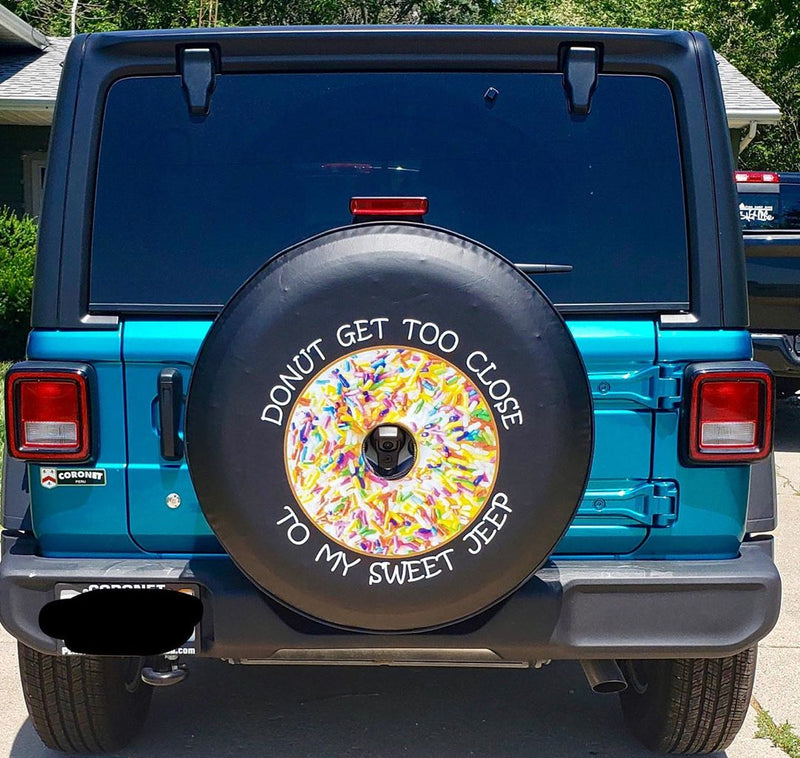 Best Gift for Jeep Owners: Custom Tire Covers
