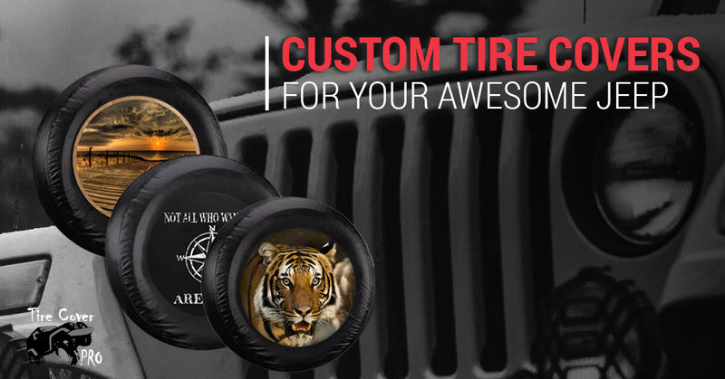 Custom Tire Covers for Your Awesome Jeep