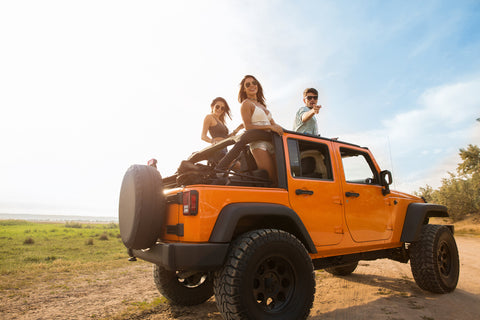 Top Jeep Wrangler Unlimited Accessories – TireCoverPro