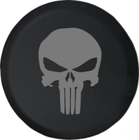 Punisher Skull Offroad Jeep RV Camper Spare Tire Cover A101 - TireCoverPro