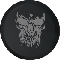 Punisher Skull Offroad RV Camper Spare Tire Cover-35 inch
