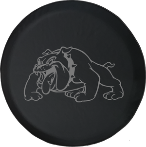 Jeep Liberty Spare Tire Cover With Bulldog (Liberty 02-12)