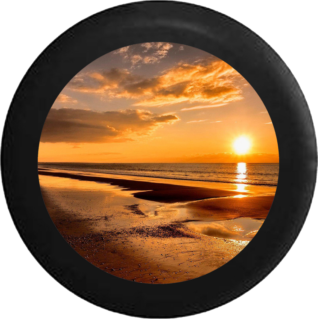 Jeep Liberty Spare Tire Cover With Sunrise Print (Liberty 02-12)
