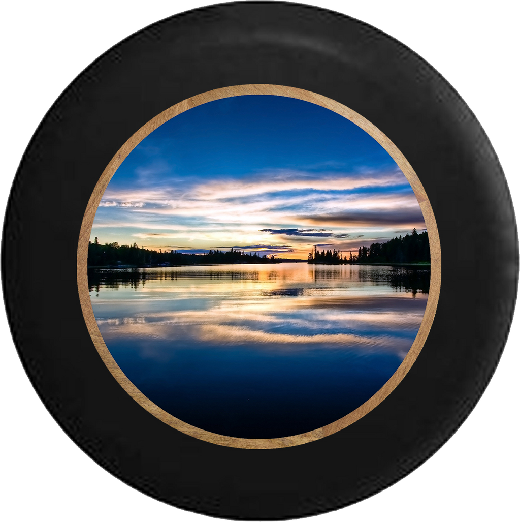Jeep Liberty Tire Cover With Sunrise Print (Liberty 02-12) - TireCoverPro